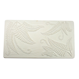 Textured Fusing Tile - Fern Leaf