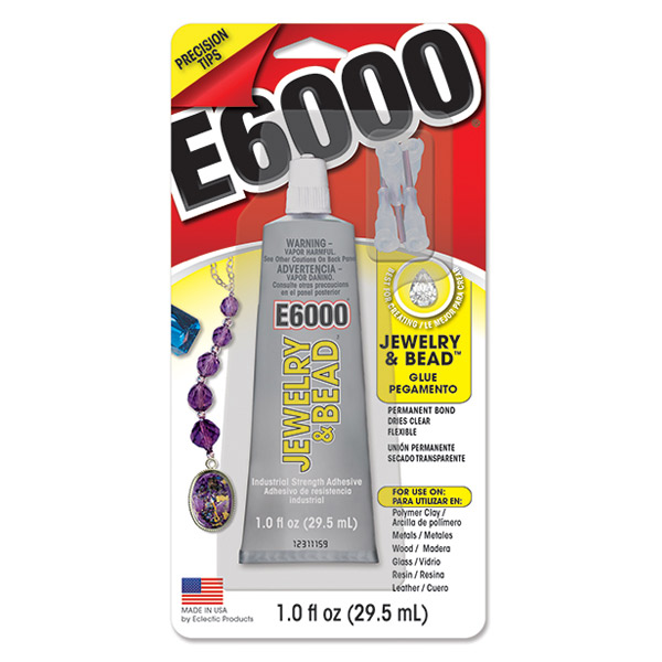 E6000 Jewellery and Bead with 4 tips