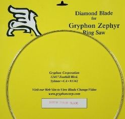 Zephyr Ring Saw - Super Power Blade